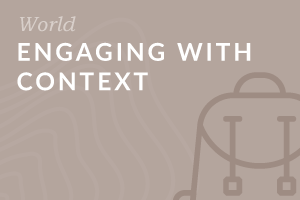 Foundation: Engaging with Context