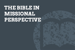 The Bible in Missional Perspective